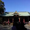 東京十二社 根津神社に初詣参拝